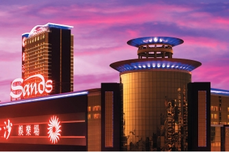 Exterior view of the Sands Macao