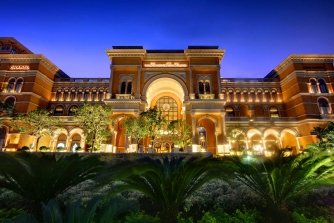 Exterior view of the Shoppes at Four Seasons Macao