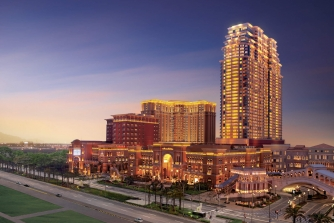 Exterior view of the Plaza Macao & Four Seasons hotel